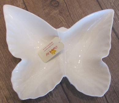 Sommerfugl-fat kr. 180,-